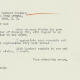 Letter : 1934 January 8