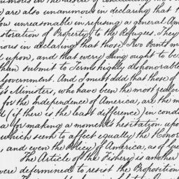 Document, 1782 November 25