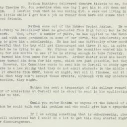 Letter : 1937 November 3