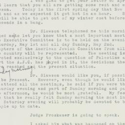 Letter : 1948 April 20
