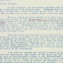 Letter : 1939 August 16