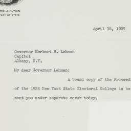 Letter : 1937 April 15