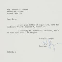 Letter: 1940 August 21