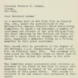 Letter: 1940 January 20