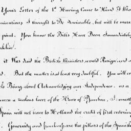 Document, 1782 March 28
