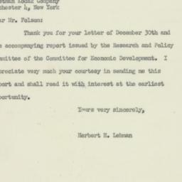 Letter : 1950 January 4