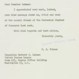 Letter : 1956 February 1