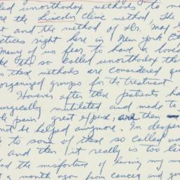 Letter : 1956 May 17