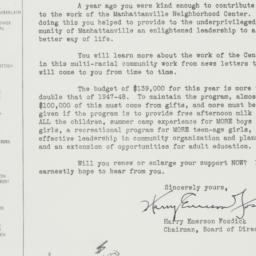Letter: 1951 March 16