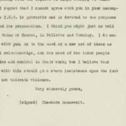 Letter: 1918 January 18