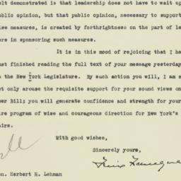 Letter: 1933 March 30
