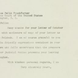 Letter: 1948 October 17