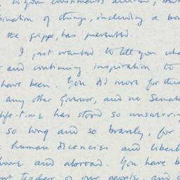 Letter : 1957 January 10