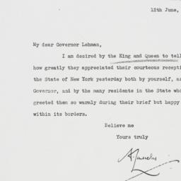 Letter : 1939 June 12