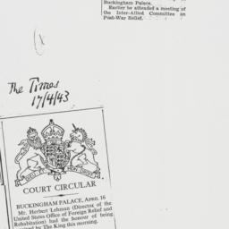 Clipping : 1943 April 17