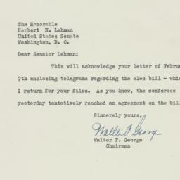 Letter : 1950 February 8