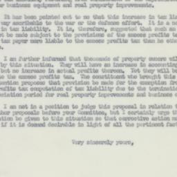 Letter : 1950 December 11