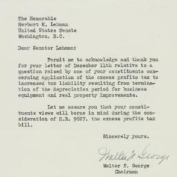 Letter : 1950 December 13