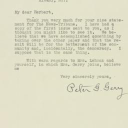Letter : 1929 December 12