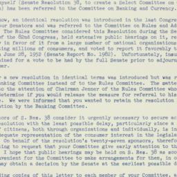 Letter: 1953 February 6