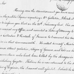 Document, 1786 May 14