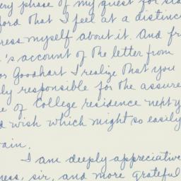 Letter : 1935 November 19