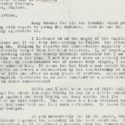 Letter : 1935 November 23