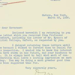 Letter : 1936 March 23