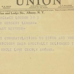 Letter : 1936 November 5
