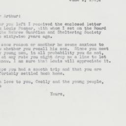 Letter : 1963 June 1