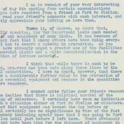 Letter : 1941 May 7