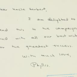 Letter : 1949 September 26
