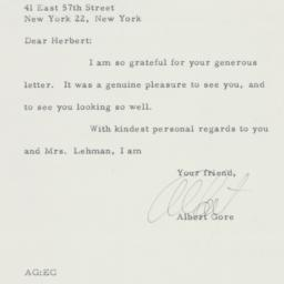 Letter : 1958 May 8