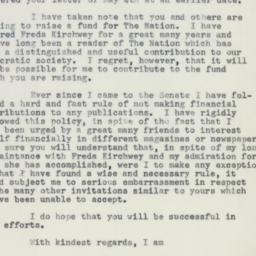 Letter : 1955 May 19