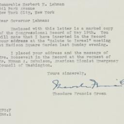 Letter: 1948 May 21