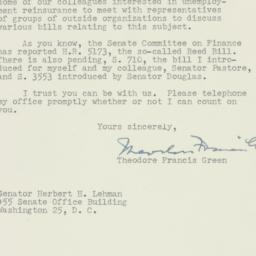 Letter : 1954 June 23
