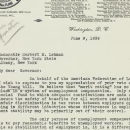 Speech: 1939 June 9