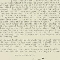 Letter: 1943 April 15