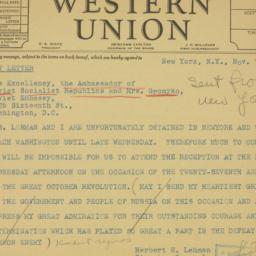 Pamphlet : 1944 November 7