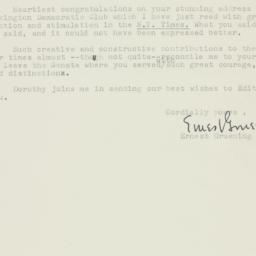Letter : 1957 January 19