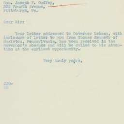 Letter : 1934 July 13