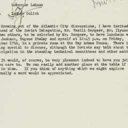 Letter: 1943 December 14