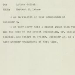 Letter : 1943 December 15