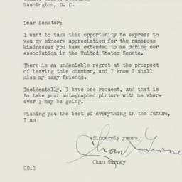 Telegram : 1950 August 8