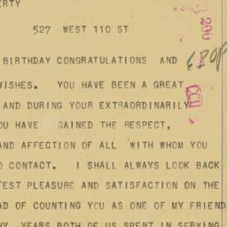 Letter : 1956 October 6
