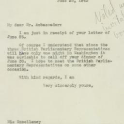 Letter: 1943 June 28