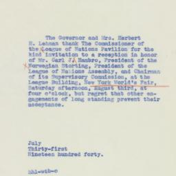 Pamphlet : 1940 July 31
