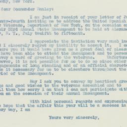 Speech: 1936 July 2