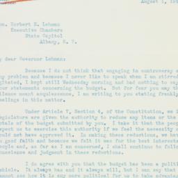 Letter : 1941 August 1