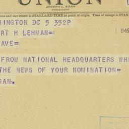 Note: 1946 September 5